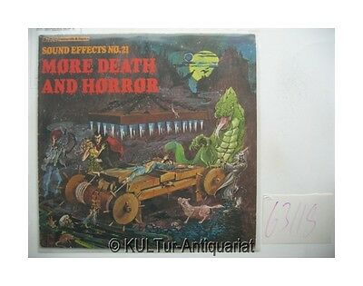 Sound Effects No. 21 - More Death and Horror [Vinyl-LP]. HARDING, MIKE: