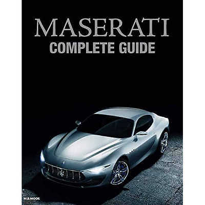 Used MASERATI COMPLETE GUIDE Book From JAPAN