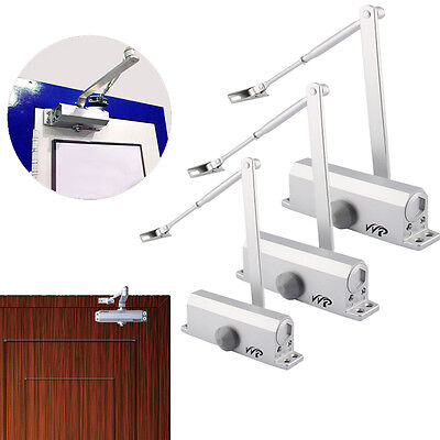 25-80KG Aluminum Commercial Door Closer Two Independent Valves Control AU Stock