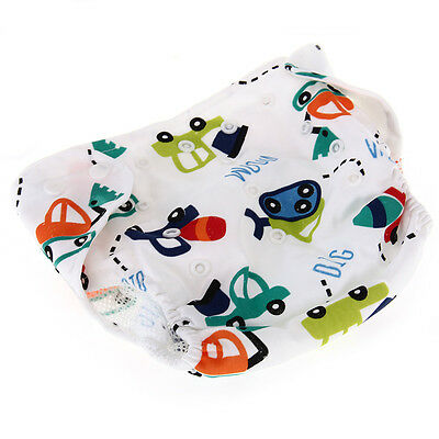 Newborn Baby Diaper Nappy Cover Adjustable Stretch Leakproof