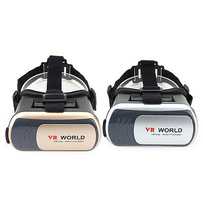 VR WORLD Virtual Reality 3D Brille Game Glasses für iPhone 7plus Samsung Gamepad