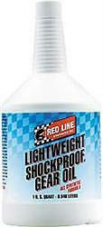 Red Line Oil 58404  Synthetic ShockProof  Gear Oil; Lightweight ShockProof (R);
