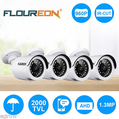 FLOUREON 1500TVL Night Vision LED Dome Outdoor Indoor CCTV DVR Security Camera