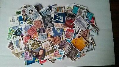 Collection of GB used stamps OFF PAPER all reigns over 1000 stamps no duplicates