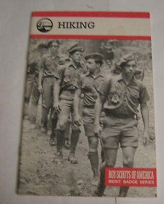 Boy Scouts of America BSA Hiking Merit Badge Series 1985