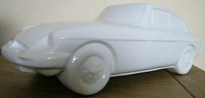 Large White Pottery Mgb Gt ..15 Inches Long