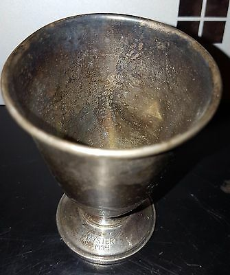 Mystery, 1934, New Orleans Mardi Gras Krewe Favor Sterling Small Cup B305.
