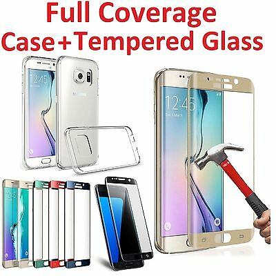 Full Cover Tempered Glass Screen Protector for Samsung Galaxy S6/S7/ Edge/+ Case