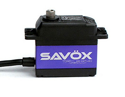 Savox TY TESSMANN EDIT HIGH VOLTAGE BRUSHLESS DIGITAL SERVO 0.08/347 SB2274SG-TE