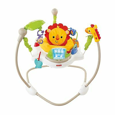 Fisher Price Rainforest Friends Baby Jumperoo Play Baby Bouncer | X7324