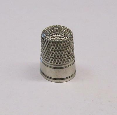 Vintage #10 Sterling Silver Thimble ~ 5.4 grams ~ 2-A648