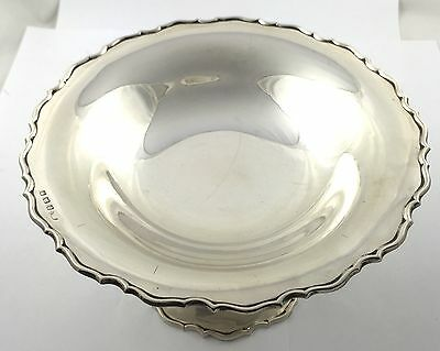 Beautiful Solid Sterling Silver Bon Bon Dish Bowl 1925