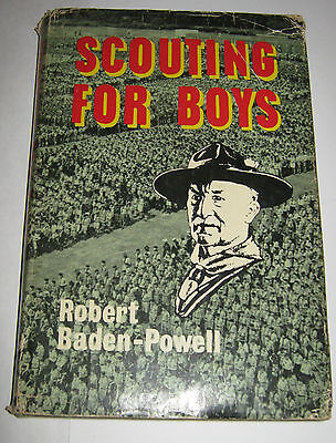Scouting for Boys - Robert Baden-Powell Hardcover Edition - 34th Edition 1967