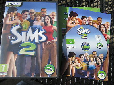 The Sims 2 PC DVD ROM Windows Original Complete Base Game inc Instructions Codes