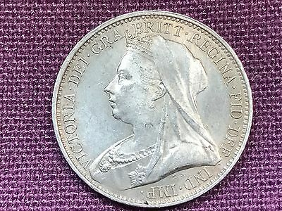 T2: World Coin Great Britain 1895 4 Pence Groat