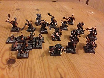 Huge Pro Painted Mordheim Skaven Warband With Extras