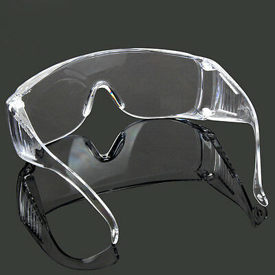Safety Vented Goggles Glasses Eye Protection Protective Lab Anti Fog Dust Clear