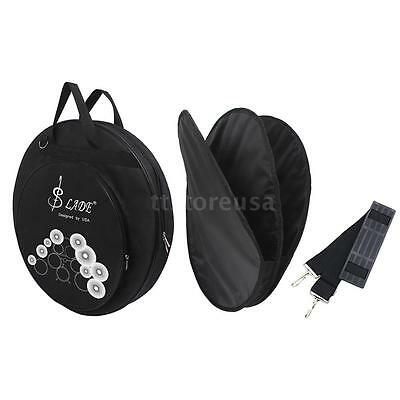 "21"" 3 Pockets Cymbal Bag Packback with Removable Divider Shoulder New X1K9"