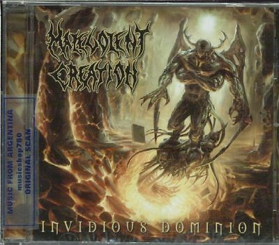 Malevolent Creation Invidious Dominion Sealed Cd 2010