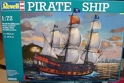 "Revell 1:72 05605 Pirate Ship 55cm lang  Bausatz ""Neu""(317)"
