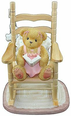 Cherished Teddies Lucy Rocking Away in My Favourite Reading Chair 676918 Boxed