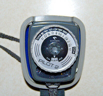 Gossen Pilot 2 Exposure Photographic Light Meter with Case *Marked West Germany