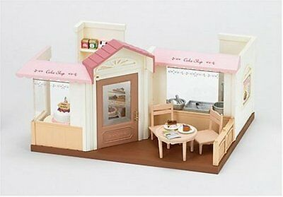 Sylvanian Families forest stylish cake shop candle light party w/o Battery Japan