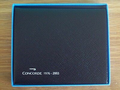 CONCORDE MEMORABILIA DIARY 1976 - 2003 BRITISH AIRWAYS SMYTHSON of BOND STREET
