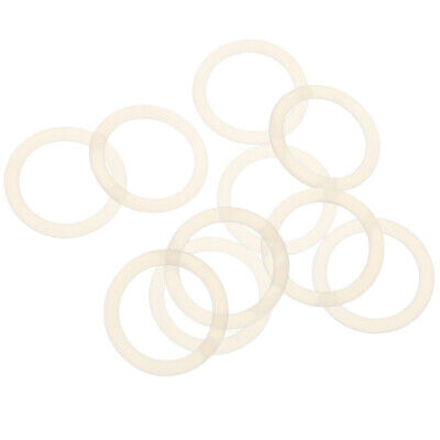 10 Silicone Baby Pacifier Holder Adapter O Ring Dummy Ring for MAM/NUK Clear