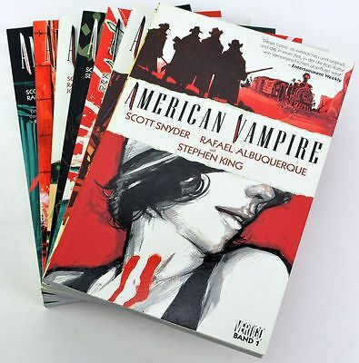 American Vampire Band 1 - 7, Stephen King Panini