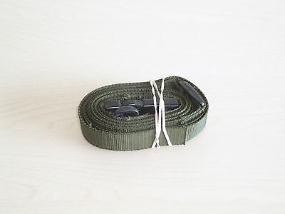 British Army-Issue SA80 Olive-Green Rifle Sling.