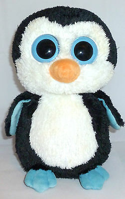 2013 Ty Waddles Boos Big Eyes Plush Collectible Toy Penguin