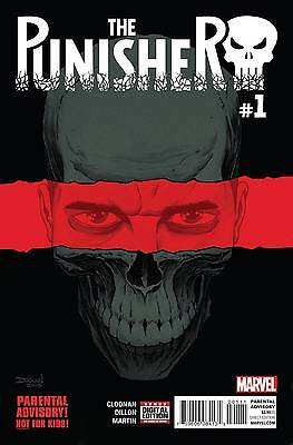PUNISHER #1, New, First print, Marvel Comics (2016)