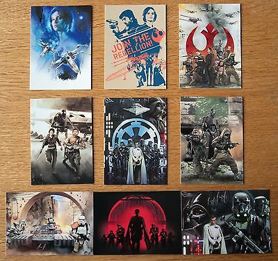 Star Wars Rogue One Series 1 Montage Set 9 Cards