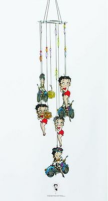 Betty Boop Wind Chime: Red Dress/Biker Betty (11974)
