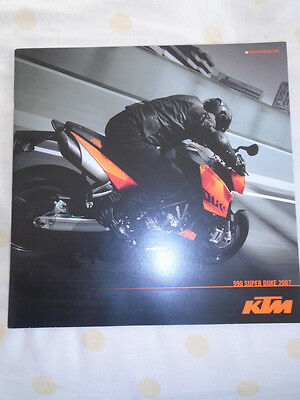 KTM 990 Super Duke motorcycle brochure 2007 English text