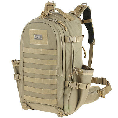 Maxpedition Xantha Black Internal Frame Backpack 9858B New With Tags