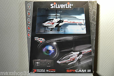Helicoptere Rc Spycam Iii  By Silverlit Jouet Neuf Drone Camera