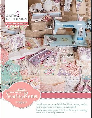 Anita Goodesign Premium Plus Collection - THE PERFECT SEWING ROOM ~ NEW SEALED