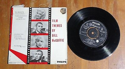 "'Film Themes' BILL McGUFFIE 7"" 7 inch vinyl single EP Philips BBE 12374"