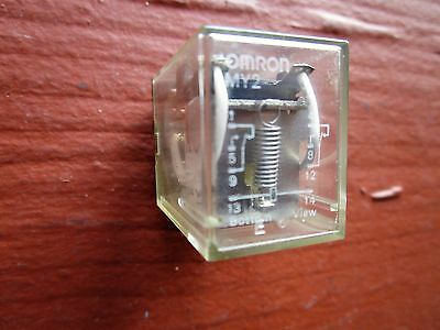 Omron MY2 Relay 24VDC 8-Pin