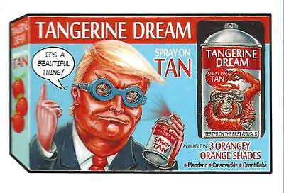 Wacky Packages  Disgrace To White House No.116 Tangerine Dream  Limited Run