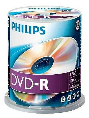 Dm4S6B00F - 100 X Dvd-R - 4.7 Gb ( 120 Min. ) 16X