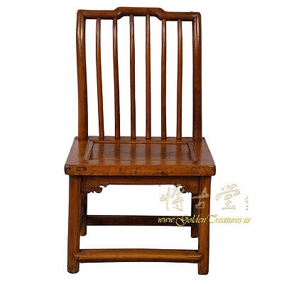 Chinese Antique Carved Low Chair 28P18B