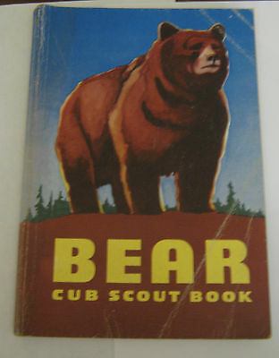 Boy Scouts of America BSA Bear Cub Scout Book - 1954
