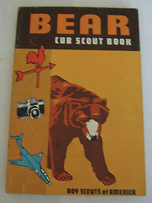 Boy Scouts of America BSA Bear Cub Scout Book 1967