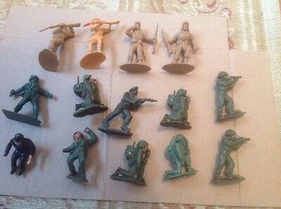 Lone Star And Others Vintage Plastic Toy Soldiers