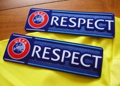 Europa League Respect Patch Badges Sleeve Shirt Football