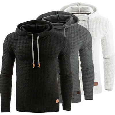 AU STOCK Men's Winter Hoodie Hooded Coats Outwear Sweater Sweatshirt Jumper Tops