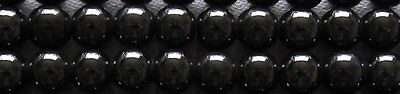 A String of Hematite Beads - Various Shapes and Sizes - Listing 1